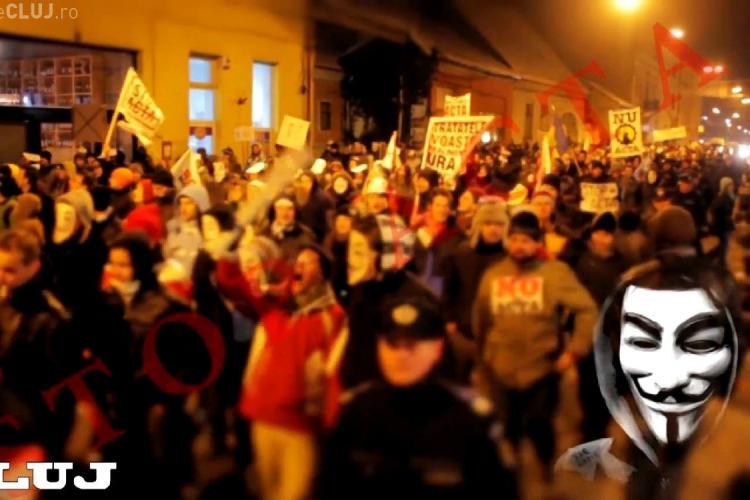 A aparut ACTA SONG, dupa protestul de sambata, 11 februarie, de la Cluj VIDEO