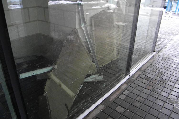 Inundatie la magazinul Central! O conducta inghetata s-a spart si mai multe etaje au fost afectate