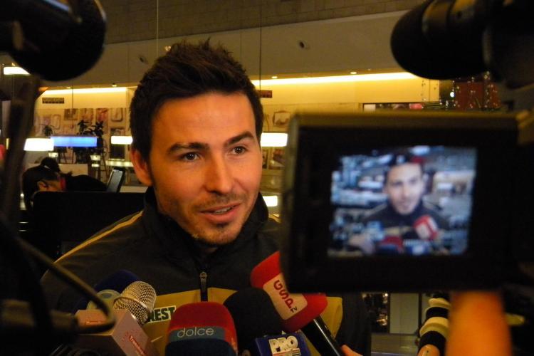 Adrian Cristea ar putea pleca de la U Cluj VIDEO