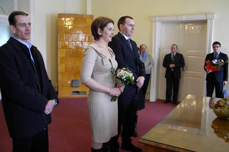 Patru casatorii oficiate la Cluj-Napoca de Valentine's Day VIDEO