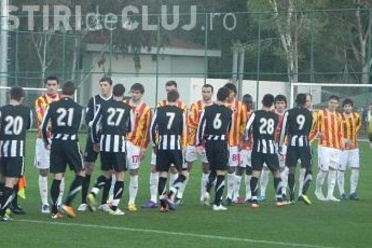 U Cluj 2 - Alania Vladikavkaz, scor 1-2
