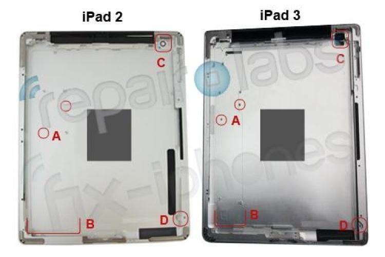 Foto cu iPad 3! Ce va avea in plus fata de iPad 2