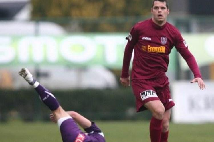 CFR Cluj invinge UTA Arad cu 2-1