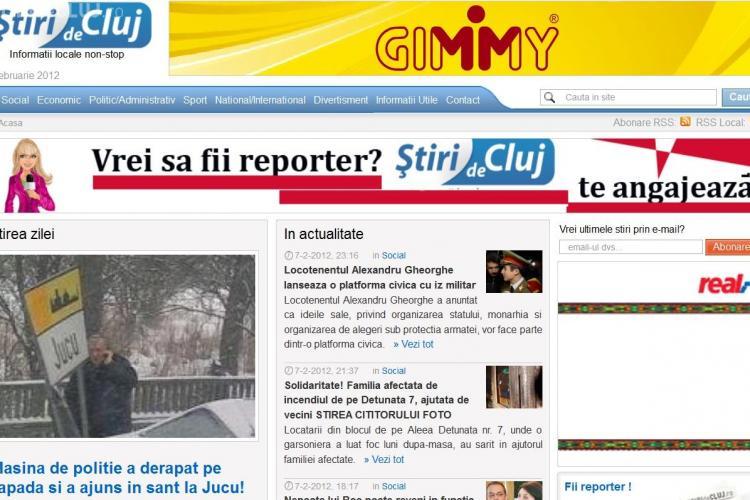 Stiri de Cluj a trecut de 20.000 de cititori unici pe zi si este liderul presei din Cluj! VA MULTUMIM