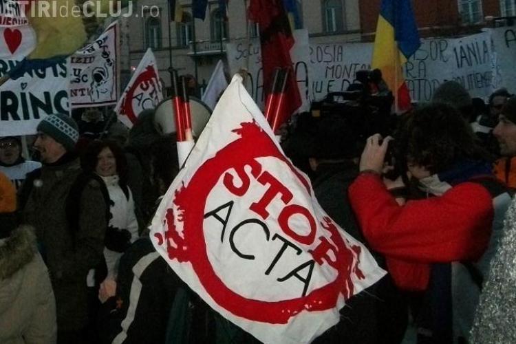 Vezi de ce sunt clujenii impotriva ACTA. Spune-ti si tu parerea!