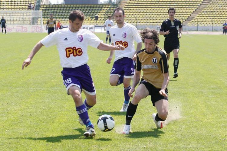 Vedeti golurile din partida cu scandal dintre FC Arges - Universitatea Cluj 1-1 - VIDEO