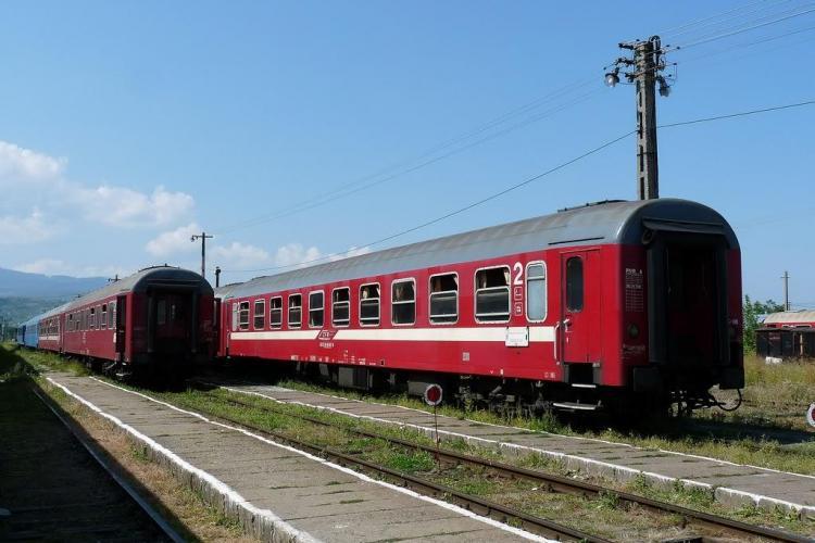 Patru trenuri accelerat de pe raza Regionalei CFR Cluj devin personal