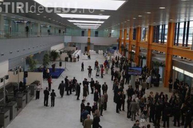 Alarma falsa cu bomba la Aeroportul International din Cluj-Napoca. Autorul telefonului a fost identificat si are dosar penal