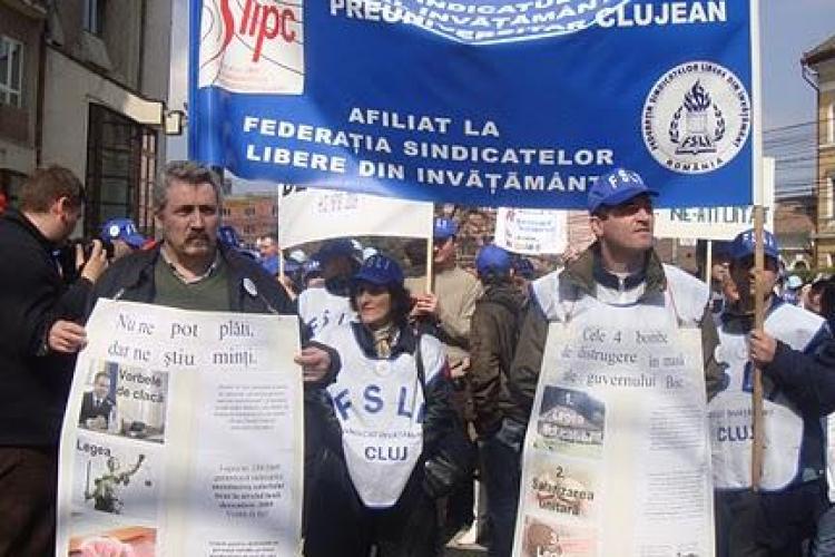 Sindicalistii din invatamant acuza Inspectoratul Scolar Cluj ca intimideaza cadrele didactice