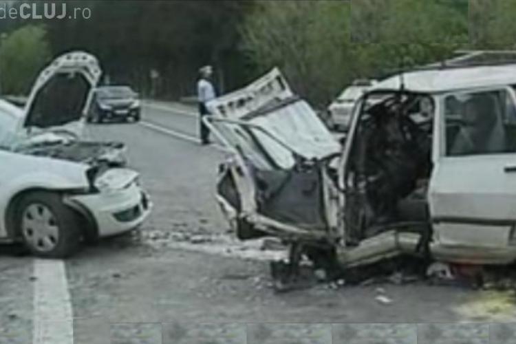 Accident grav pe DN 1, la Timisul de Jos, Brasov, soldat cu un mort si trei raniti