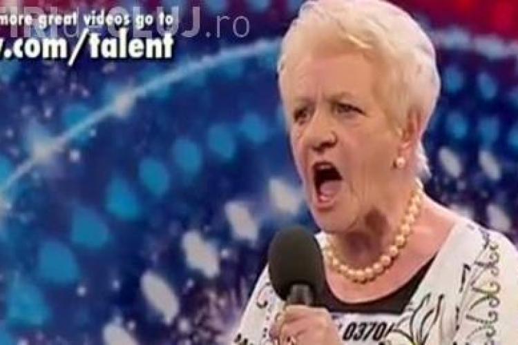 """VIDEO - O femeie de 80 de ani face senzatie la concursul """"Britain's Got Talent"""""""