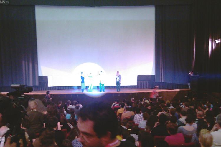 TIFF Cluj - Sala plina la Republica, la premiera mondiala a filmului Metropolis - VIDEO