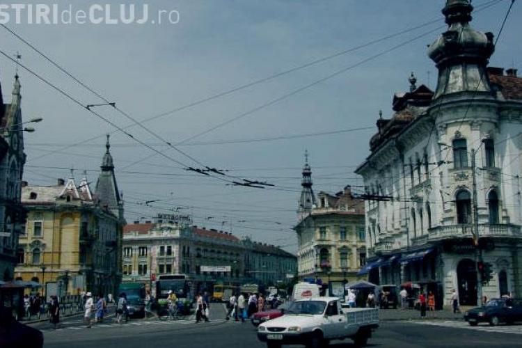 Chiriile pentru spatiile comerciale din Cluj au scazut cu 30%