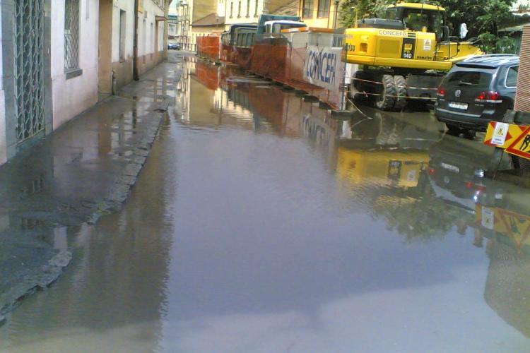 Clujul sub ape - o parte importanta a orasului este inundata dupa ploaia torentiala de la pranz - VIDEO