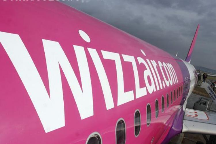Doua curse Wizz Air, Cluj-Napoca - Londra, au fost anulate din cauza norului de cenusa