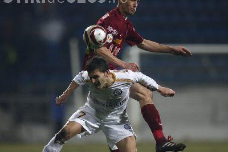Bistrita - Urziceni 0-0. CFR Cluj este la un pas de un nou titlu