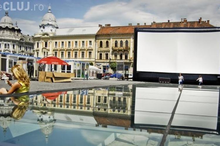 TIFF Cluj - Circulatia se inchide in Piata Unirii in fiecare seara de la ora 21.00 pe durata festivalului