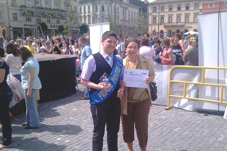Clujul si-a ales primarul pentru o zi. Este vorba de un tanar de la Colegiul Tehnic de Telecomunicatii