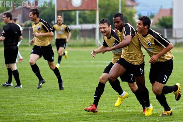 VIDEO - Golurile si cele mai aprinse faze din meciul Universitatea Cluj - Muresul Deva 2-0