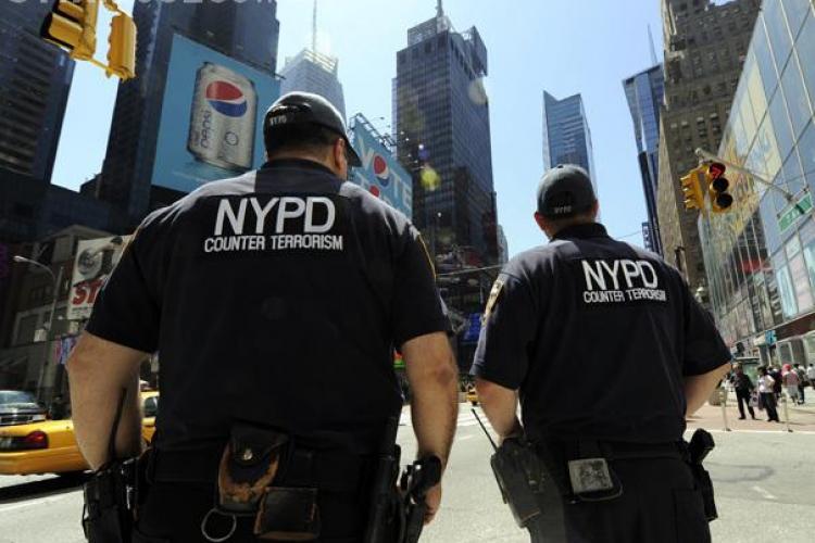 Piata Times Square din New York evacuata dupa ce a fost gasit un colet suspect