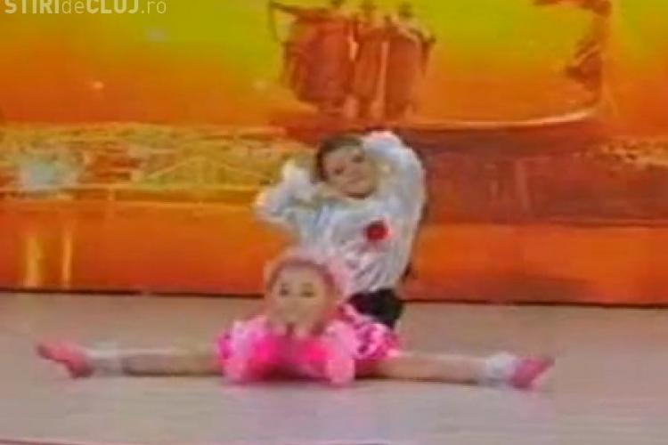 Doi copii, incredibili dansatori din Rusia, la Russia's got talent- VIDEO