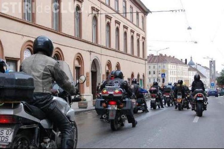 Marsul motociclistilor, petreceri si concursuri la intalnirea care are loc in acest weekend la Gilau- VIDEO