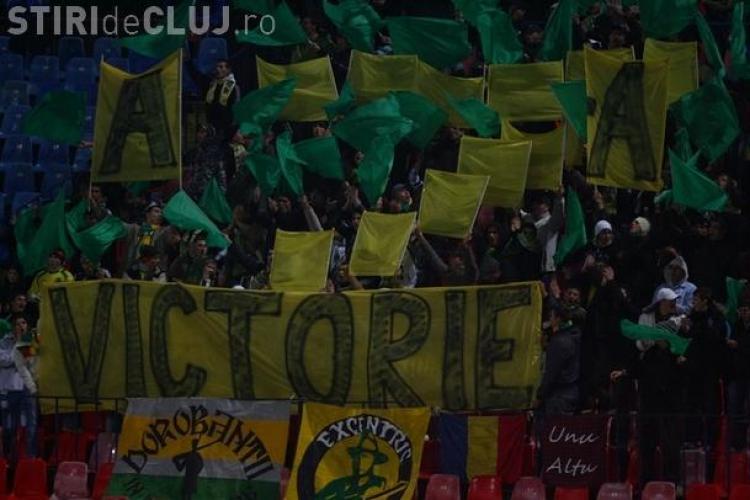 Fanii lui FC Vaslui au cumparat aproape toate biletele puse la vanzare pentru finala cu CFR Cluj