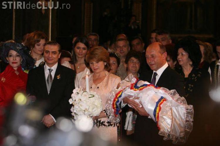 Presedintele Traian Basescu l-a botezat pe Carol Ferdinand, fiul printului Paul si al printesei Lia