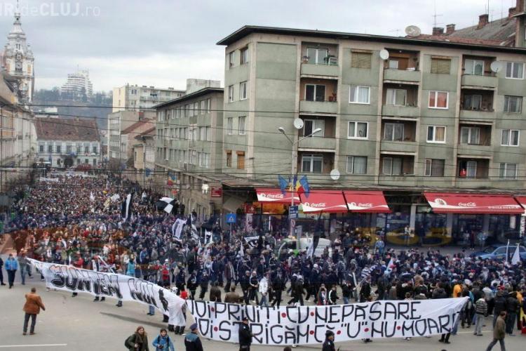Consiliul Local respinge majorarea de capital de la clubul Universitatea Cluj