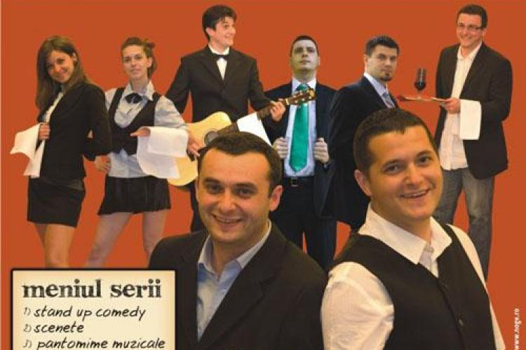 "Trupa Comedica serveste ""Portia de ras"", miercuri, de la ora 20.00, la Sala de Cultura a Studentilor din Cluj-Napoca"