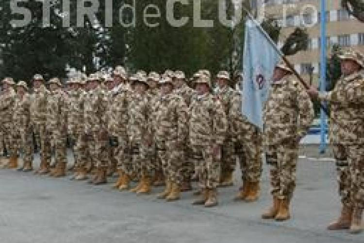 600 de militari din Batalionul 811 Dej pleaca in misiune in Afganistan