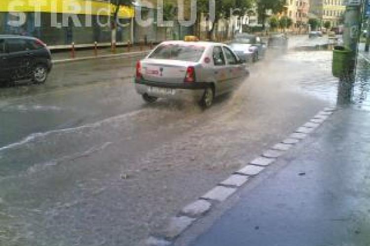 Cod galben de inundatii in Cluj