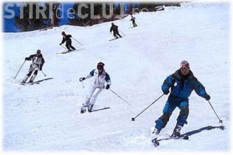 Concurs de ski la Cojocna, pentru copiii din mediul rural