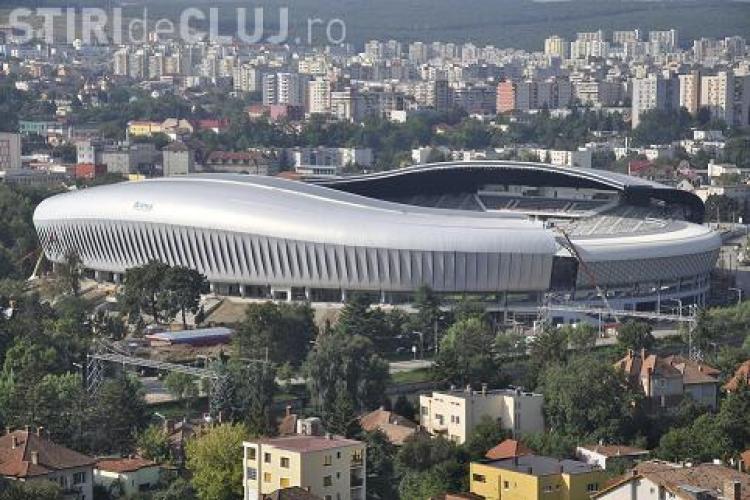 Elevii vor vizita Cluj Arena in cadrul unui proiect al Consiliului Judetean Cluj