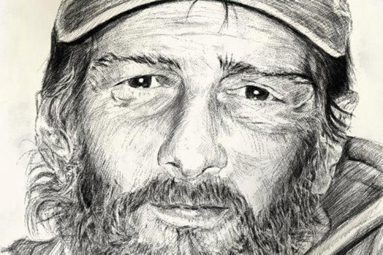 "Barbatul mort in ""Biblioteca Janis"" era un artist homeless FOTO"