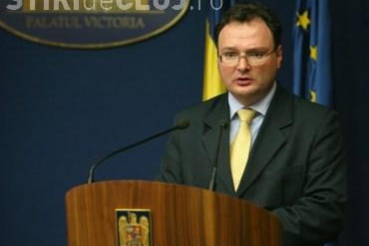 Catalin Baba, ministrul Educatiei, ales in Senatul UBB Cluj