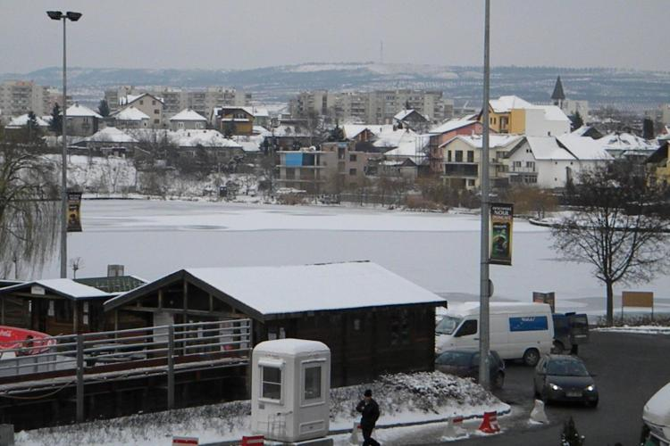 Iulius Mall vrea sa sa ridice doua cladiri de birouri pe malul lacului din Gheorgheni