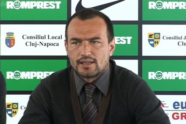 "Ionut Badea, antrenor ""U"" Cluj: ""Pentru prima data, echipa functioneaza ca un grup unit"""