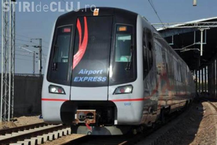 Tren Expres Metropolitan Cluj-Napoca - Apahida! Moisin: E prea scump. Punem autobuz Gara - Aeroport VIDEO