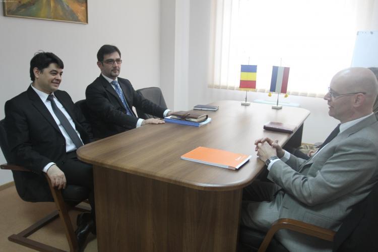 Consiliul Judetean Cluj cauta investitori si in Olanda
