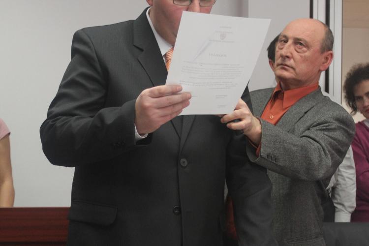 Consiliul Judetean Cluj are un nou consilier: Cosmin Alexandru Todea