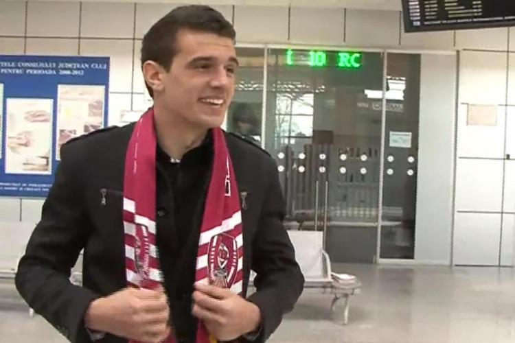 Liviu Ganea: Am avut de ales intre CFR si Vaslui! Am ales Clujul pentru a face performanta FOTO