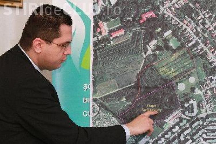 Parc nou de 3 hectare, intre cartierul Zorilor si campusul Hasdeu FOTO