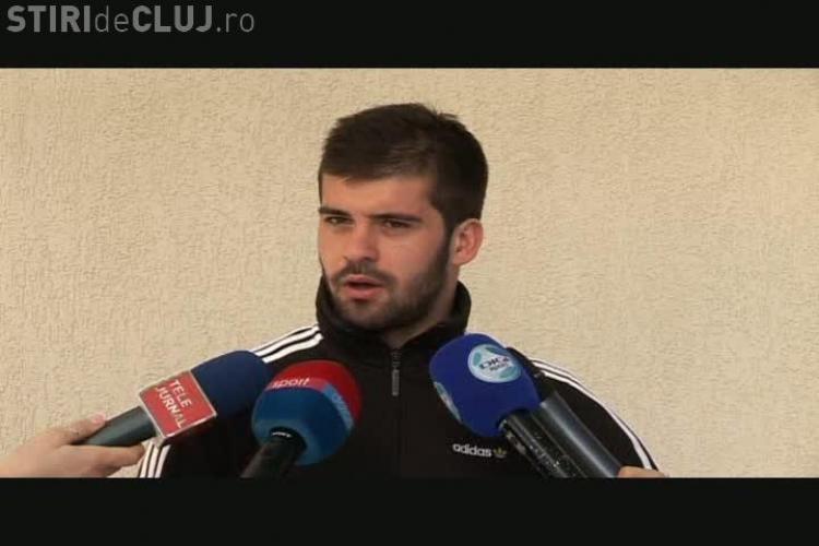 Dorinel Popa, U Cluj: Daca facem patru puncte cu Rapid si Steaua avem sanse la Cupa UEFA VIDEO