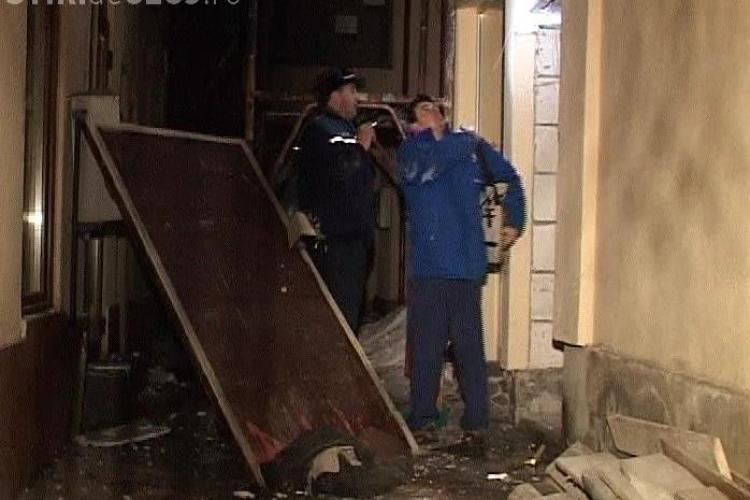 Explozie la Sighetu Marmatiei! Vezi imagini din interiorul clubului care a explodat VIDEO