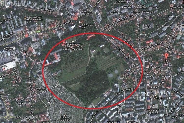 Padure-parc de 6 hectare, amenajata intre cartierul Zorilor si campusul Hasdeu