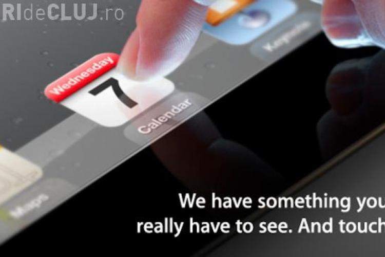 Prima poza cu iPad 3! Apple lanseaza gadgetul in 7 martie