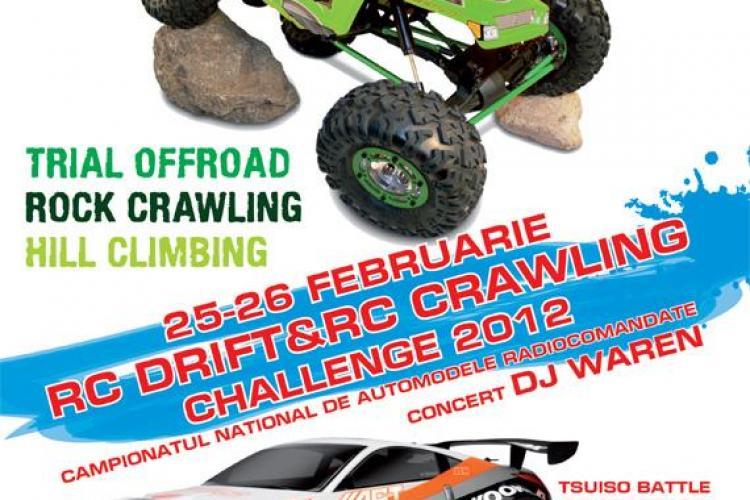 Campionatul National Privat de RC DRIFT & RC CRAWLING se va desfasura sambata si duminica la Cluj-Napoca