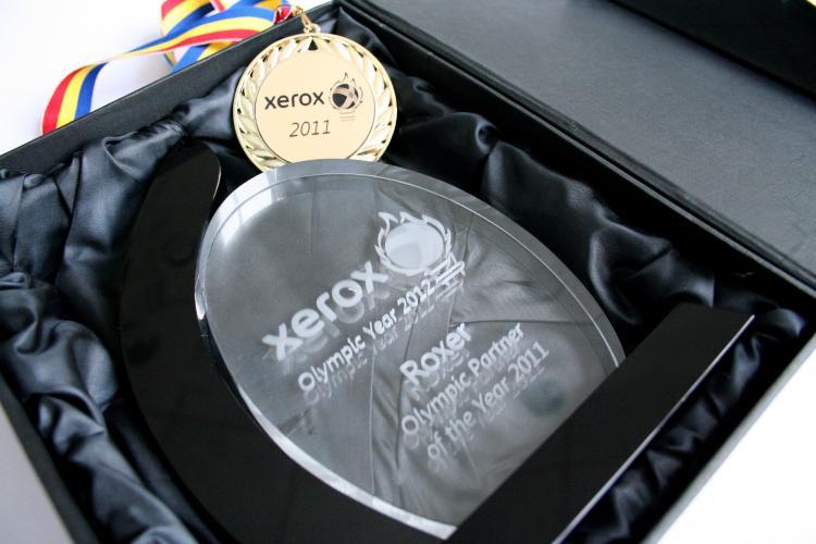 Succes de marca pentru compania clujeana Roxer Grup, care a fost premiata de Xerox