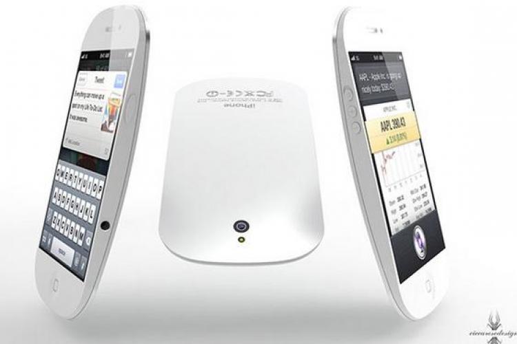 Vezi cum arata iPhone 5, smartphone -ul de 4 inci FOTO